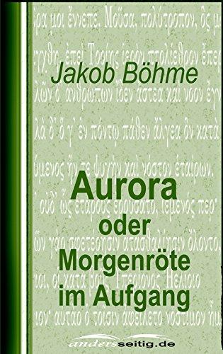 Amazoncom Aurora Oder Morgenröte Im Aufgang German