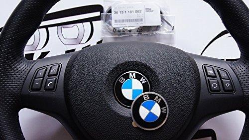 BMW 36131181082 Emblem Logo 45 mm Zentrum Lenkrad Cap Badge Decal Sticker