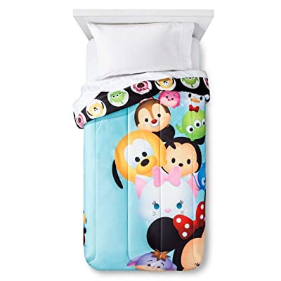 Disney Tsum Tsum Reversible Twin Comforter: Home & Kitchen