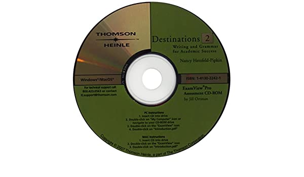 Destinations 2 Assessment CD ROM With ExamView Nancy