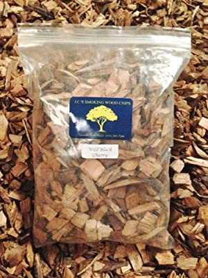J.C.'s Smoking Wood Chips - 210 Cu Inch Gal Bag - Wild Black Cherry by J.C.'s Smoking Wood Products