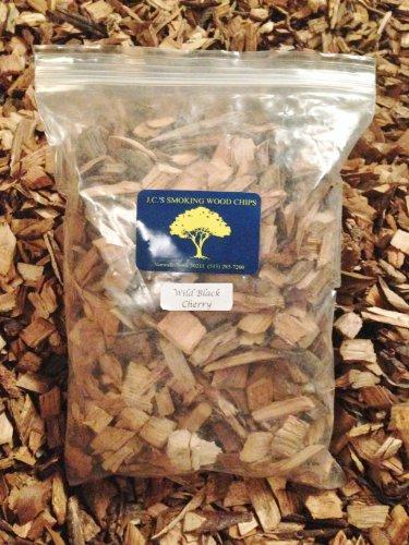 J.C.'s Smoking Wood Chips - 210 Cu Inch Gal Bag - Wild Black Cherry