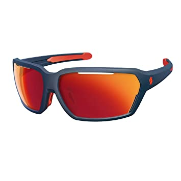 Scott Vector Fahrrad Sport Brille weiß/rot//rot chrome amplifier 6TdmnQEX