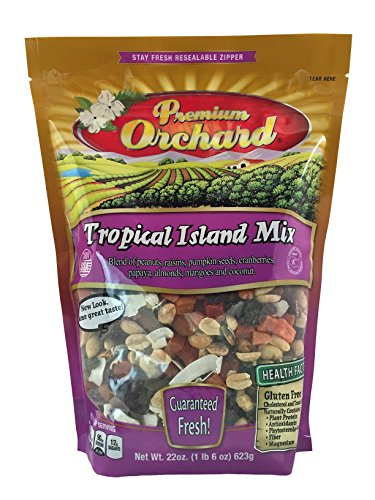 Premium Orchard Tropical Island Mix (Value Snack ()