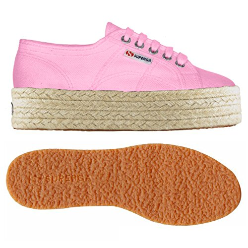 Down Basses Pink Cotw Begonia Up 2790 Femme Superga And Sneakers Linea awfgqp