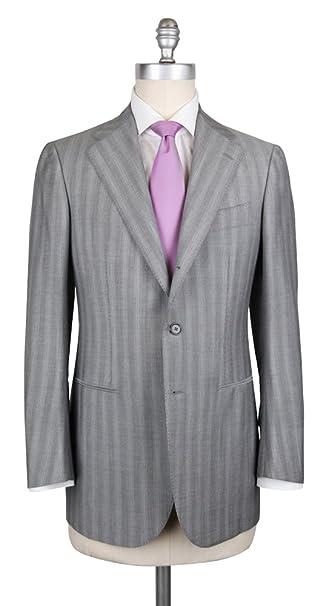 Amazon.com: Nuevo Cesare Attolini traje gris, 36, Gris: Clothing