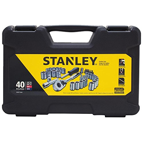 40 Piece Socket Tool (Stanley STMT71648 40-Piece Socket Set)