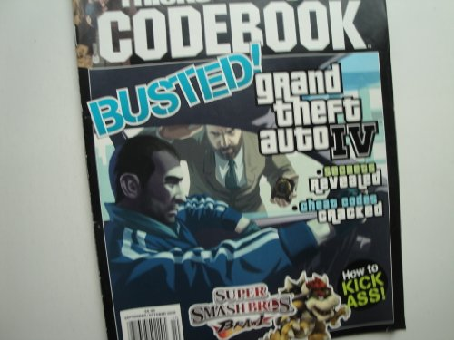 TIPS & TRICKS VIDEO GAME CODEBOOK Magazine September / October 2008 (Volume XV, Issue 5, Grand Theft Auto IV, Secrets Revealed, Cheat codes cracked, Super Smash Bros Brawl)