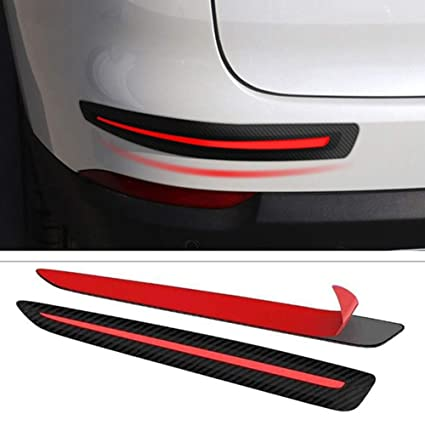 4x New Car Auto Body Door Side Anti-Collision Protector Strips Decor Bar Styling