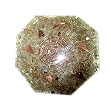 Jet New Moonstone Orgone Octagon Vastu Plate Free Booklet Jet International Crystal Thaerapy Energy Generator Crystal Gemstones Unique Rare Science Construction Vedic Astrology Wealth Health Cosmic Intelligence Five Elements Copper Metal Mix Rare Healing Positive Energy Tetrahedron Sacred Feng Shui Geometry Memory Concentration Meditation Spiritual Psychic Piezo Electric Effect Business Prosperity Success