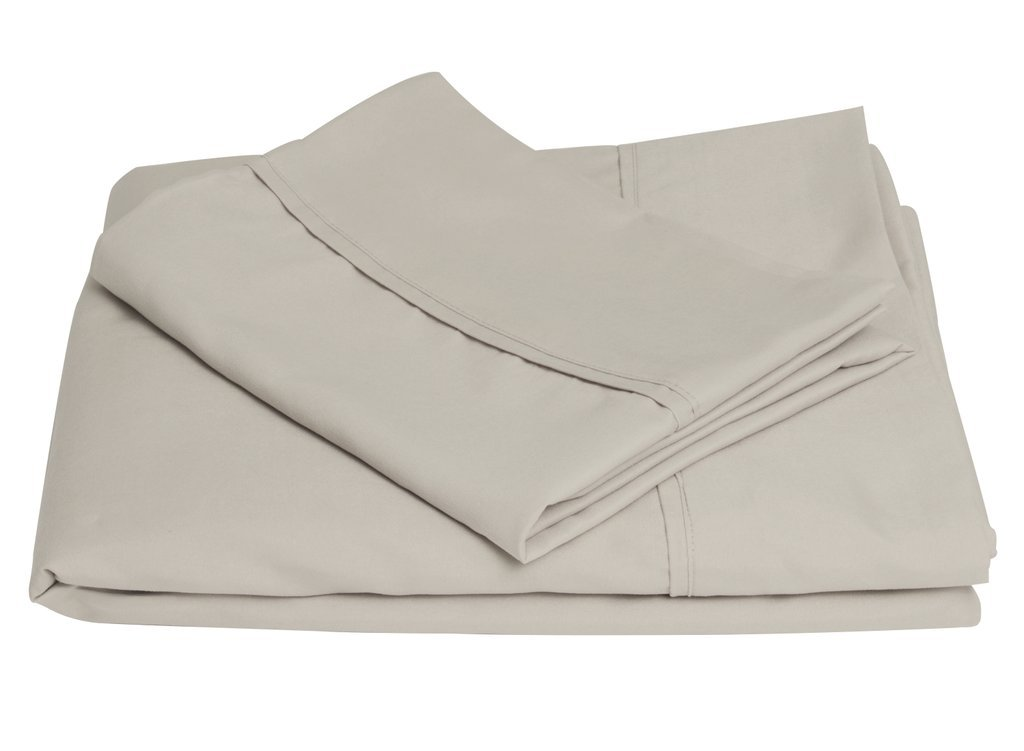 Brooklyn Bedding Queen Brushed Microfiber Sheet Set, Khaki