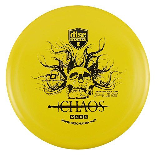 Discmania P-Line PD2 Chaos Distance Driver Golf Disc [Colors may vary] - 173-175g