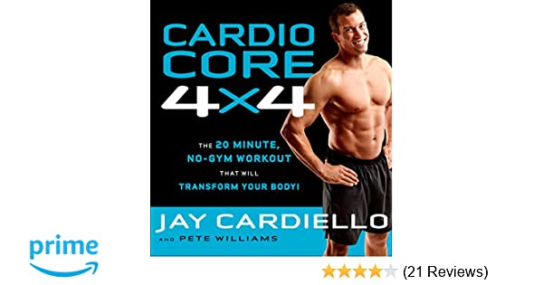 Cardio Core 4x4: The 20-Minute, No-Gym Workout That Will