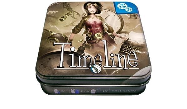 Asmodée - Timeline - Jeu de cartes - Thème Inventions ...
