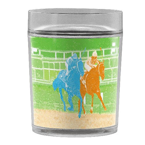 Horse Race 14ounce Double Walled Resort Tumbler