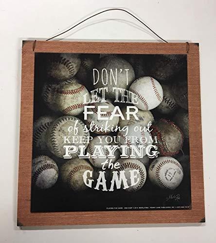 Amazon.com: No deje que el temor de Striking Out Keep You de ...