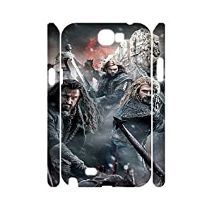 Samsung Galaxy Note 2 N7100 The Hobbit 3 3D Art Print Design Phone Back Case Personalized Hard Shell Protection HGF053743