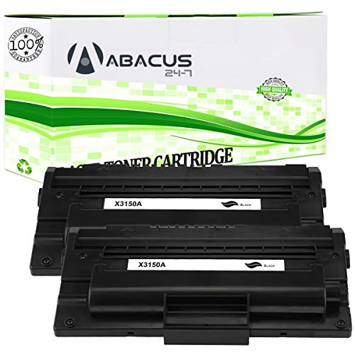 Abacus24-7 Compatible Toner Cartridge Replacement for Xerox 109R00746 Black Toner Cartridge for use with Xerox Phaser 3150/3150B Laser Printer (2-Pack)
