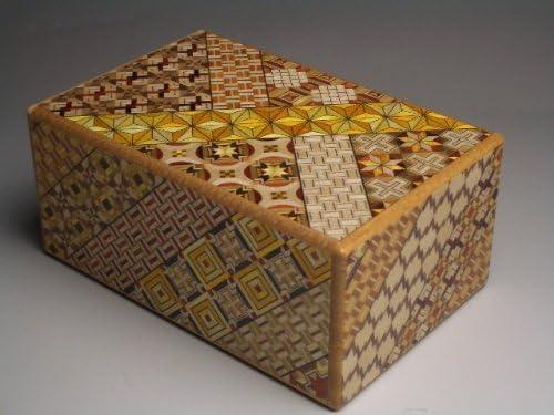 Caja secreta japonesa koyosegi, 5 SUN, 21 pasos para abrirla, puzzle: Amazon.es: Juguetes y juegos
