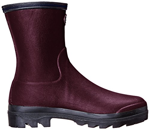Le Chameau Giverny Low - Botas Mujer Rojo - Rouge (Cherry)