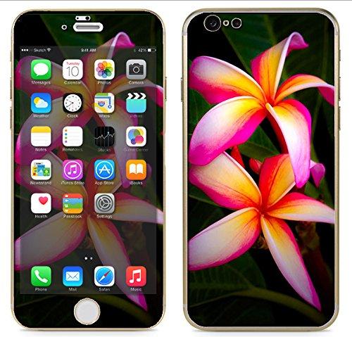 Style Plumeria Flower (Apple iPhone 6 - 4.7