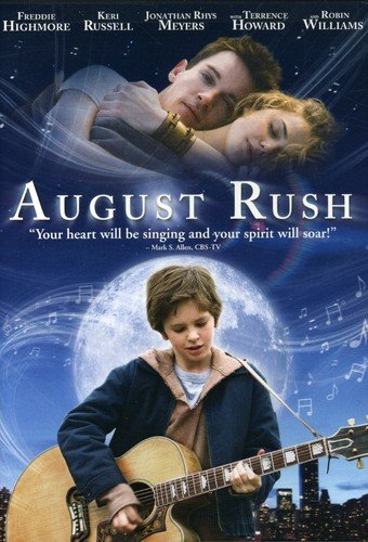 DVD : August Rush (Full Frame, Dubbed, Dolby, AC-3, Widescreen)