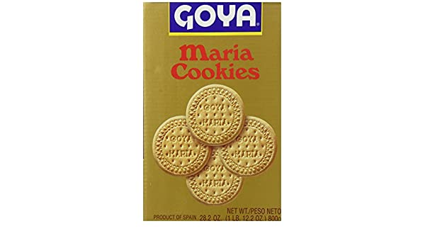 Goya Maria Cracker Roll Cookies, Family Pack, 28.2 Ounce ...