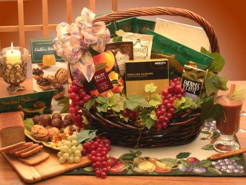 The Kosher Gourmet Food Gift Basket (Organic Stores Gift Baskets)