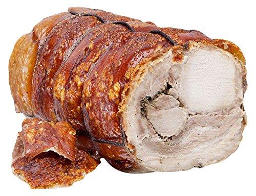 Tronco de Porchetta di Ariccia PGI 8.5 kg,carne central de cerdo horneado y picante, de nuestra producción: Amazon.es: Alimentación y bebidas
