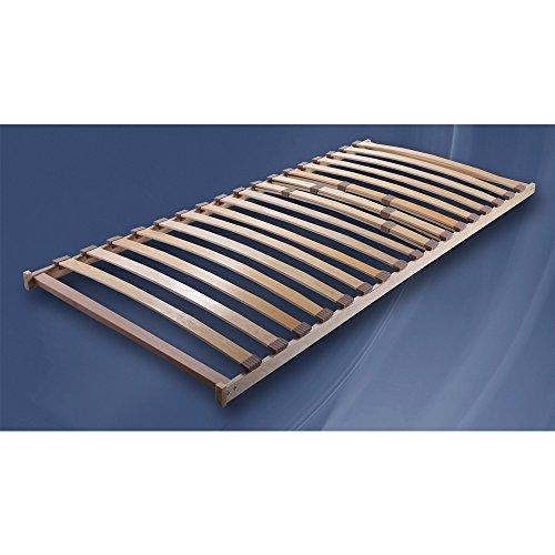 Eta Lattenrost 90 x 200 cm mit Härtegradeinstellung für Bonell-Federkern-Matratzen