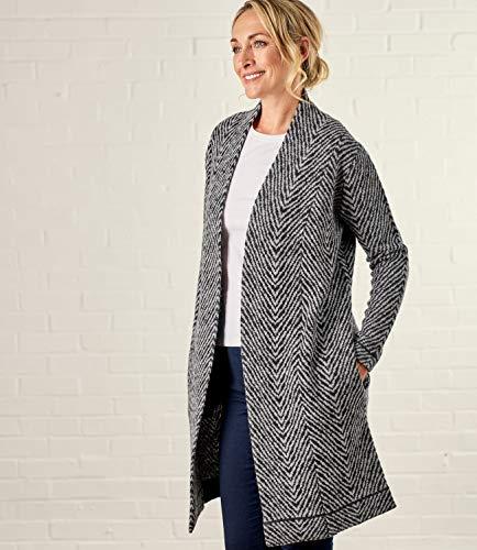 Overs Wool Cardigan Manteau Overs Cardigan imprim Wool Wool imprim Manteau Overs Manteau ZOB88q