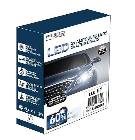 ASD TECH ledkh4 a Kit de conversión H4 Juego de bombillas LED: Amazon.es: Coche y moto