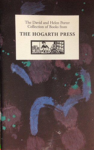 The David and Helen Porter Collection of Books from The Hogarth Press