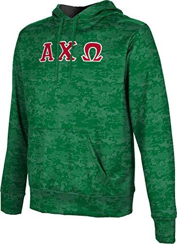 - Alpha Chi Omega Men's Pullover Hoodie, School Spirit Sweatshirt (Digital) B7444