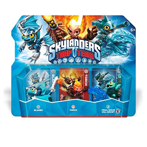 Skylanders Trap Team: Torch, Blades, & Gill Grunt - Triple Character Pack by Activision