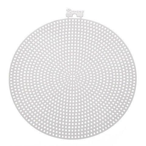 (Darice Bulk Buy DIY Plastic Canvas Shape Circle 6 inches (12-Pack) 337816)