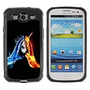 ZFresh Rugged Protective Case Cover Water & Fire Elements - Samsung Galaxy S3