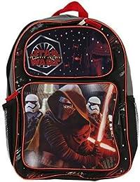 "Backpack - Star Wars Ep7 - 16"" Kylo Ren Black New STARGO"