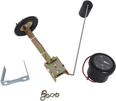 Sharplace 2 Manometro Indicatore Livello Benzina E-1//2-F Sensore 350mm Barca Marina