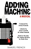 Adding Machine, Joshua Schmidt, Jason Loewith, 0573663025