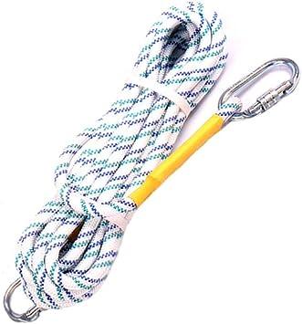 LIINAW 16 mm Cuerda de alpinismo, suave Segura respetuosa del ...