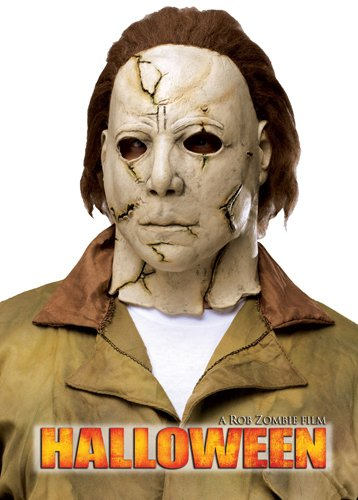 Fun World Rob Zombie's Halloween: Michael Myers Adult Mask, Beige / Red, One Size ()