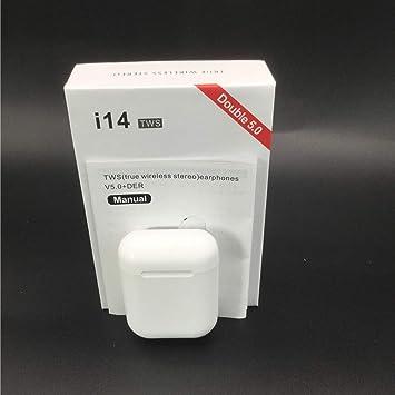 i14 TWS - Auriculares inalámbricos con Bluetooth para Smartphone ...