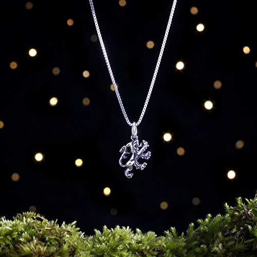 Sterling Silver Scottish Lion - Small, Double Sided - (Charm, Necklace, or Earrings)