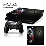 Ci-Yu-Online VINYL SKIN [PS4] Assassin's Creed #1 Whole Body VINYL SKIN STICKER DECAL COVER for PS4 Playstation 4 System Console and Controllers