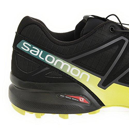 Salomon Herren Speedcross 4 Trekking-& Wanderhalbschuhe Schwarz/Gelb