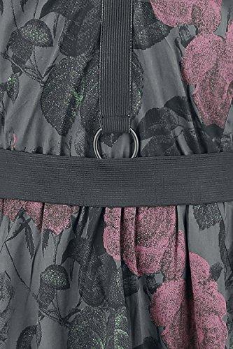 Nero nero Rose Dark Abito Dress Black Chemical vz6Bqw1w