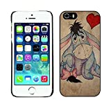 FunCuteCovers Uncommon Case For Apple Iphone 5 5s, Winnie The Pooh Eeyore Disney Cartoon