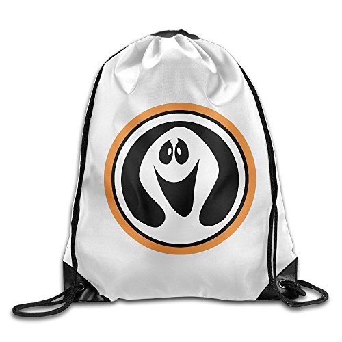 HAOYANG Ghostbusters Drawstring Backpack Sack Bag (Halloween Movie Franchise)