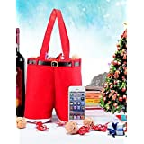 ANDP Christmas Pants Shape Wine Gift Bag , red-27mm , red-27mm